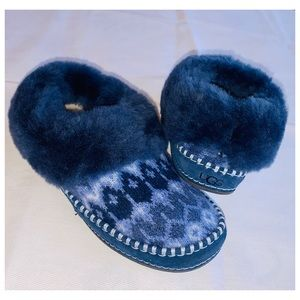 UGG WRIN ICELANDIC NORDIC KNIT SLIPPERS